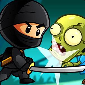 Ninja Kids Vs Zombies game