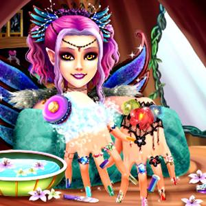 Perfect Nail Fairy Princess game