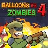 Balloons vs Zombies 4 game