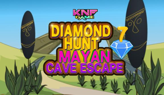 Diamond Hunt 7 : Mayan Cave Escape game