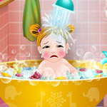 First Baby Bath game