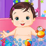 Funny Baby Bath game