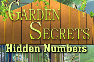 Garden Secrets Hidden Numbers game