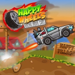 Happy Wheels Racing Movie Cars game
