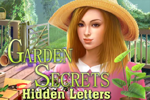 Garden Secrets Hidden Letters game