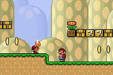 Infinite Mario game