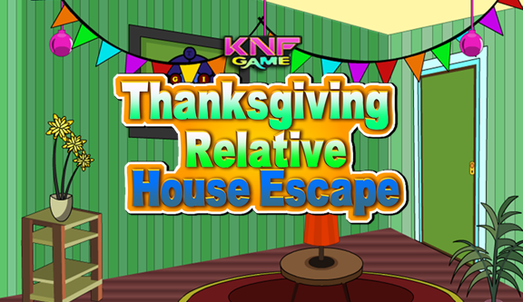 Thanksgiving Relative House Escape game