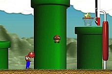 Mario Basketball game