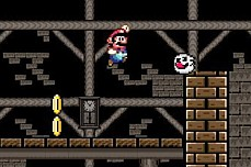 Mario Ghost House game