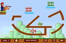 Mario Mushrooms game