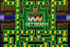 Mario Pacman game