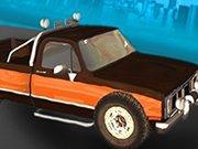 Pickup Truck City Driving Sim game