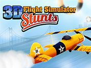 3D Flight Simulator Stunts game