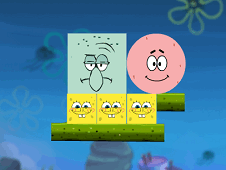 Spongebob Excludes Squidward game