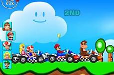 Super Mario Racing game