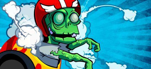 Winter Zombie Launcher game
