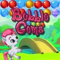 Bubble Gems game