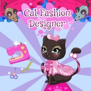 Cat Fashion Designer game