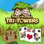 Kiba & Kumba: Tri Towers Solitaire game