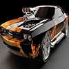Fire Muscle Car game