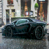 Super Car in the Rain game
