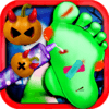 Crazy Halloween Nail Doctor game