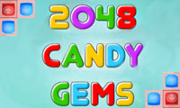 2048 Candy Gems game