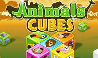 Animal Cubes game