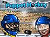 Puppet Ice Hockey game