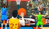 Summer Sports: Basketball game