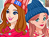 Winter Top Model Dress Up game