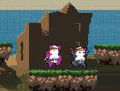 Ninja Panda Couple game